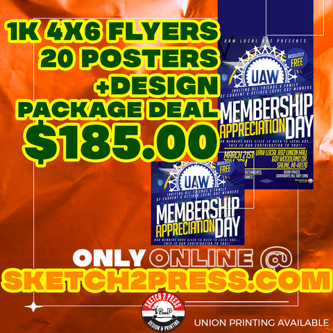 Union Printing available Flyers, Posers, and Design deal