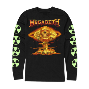Megadeth Cloud Flame Tee