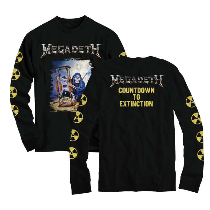Countdown to Extinction L/S Tee & Free Face Mask