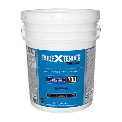 Roof X Tender<sup>®</sup> 700 Premium White™ Acrylic Cool Roof Coating