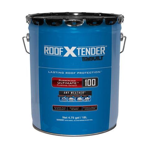 Roof X Tender<sup>®</sup> 100 Rubberized Ultimate<sup>™</sup> Flashing Cement