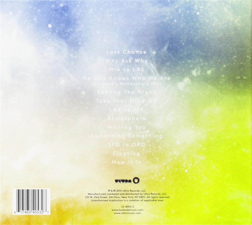 Atmosphere Album (CD)