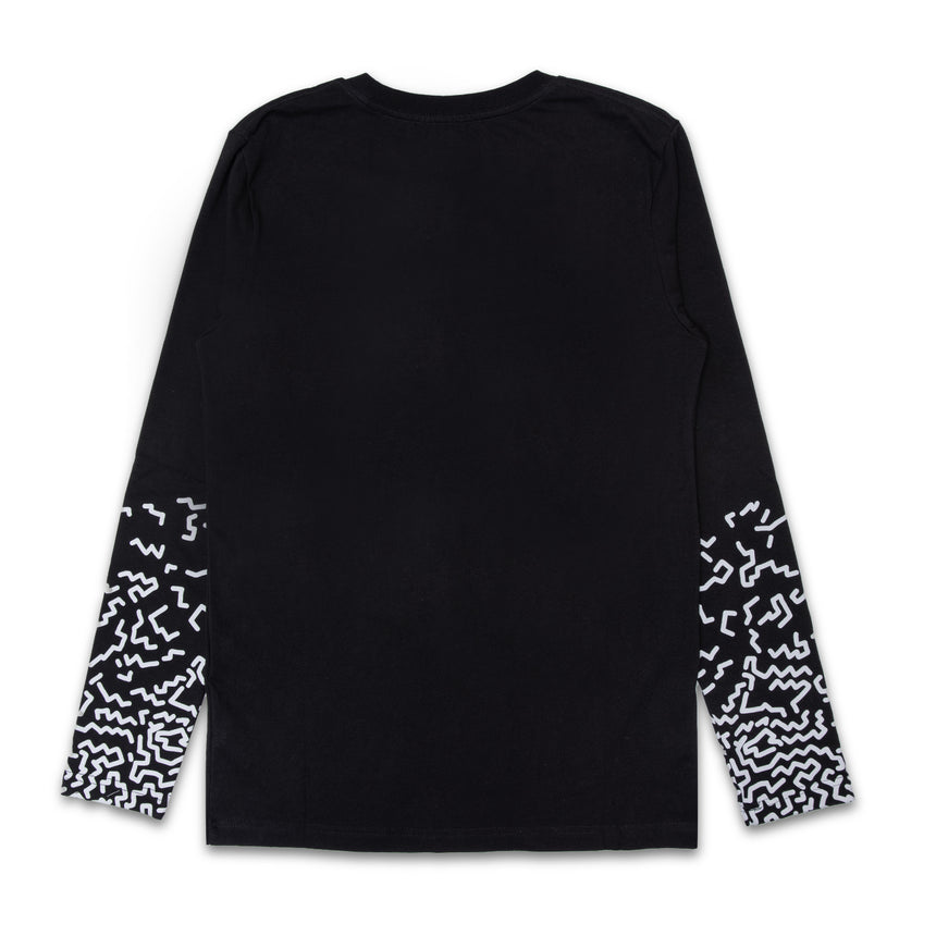 Kaskade Printed Sleeve Long Sleeve