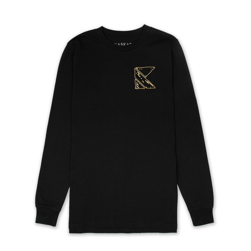 Black / Gold Long Sleeve