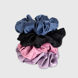 Load image into Gallery viewer, Ultra Soft Jumbo Satin Hair Scrunchies