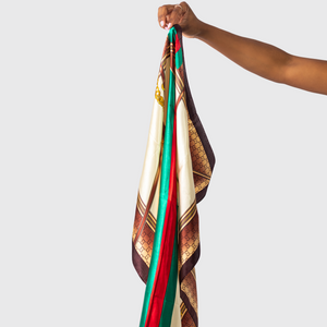 Load image into Gallery viewer, Boujie Satin Hair Scarf