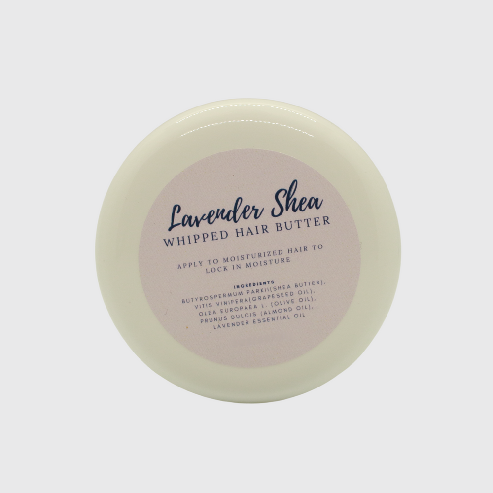 Load image into Gallery viewer, Lavender Shea Whipped Hair Butter