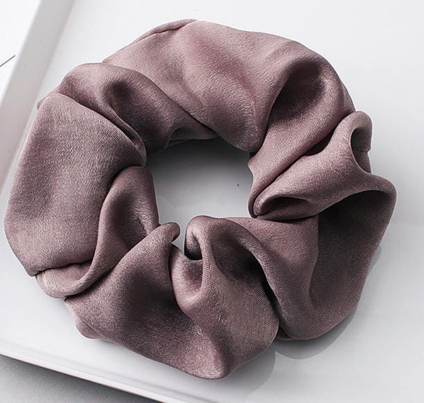 Ultra Soft Jumbo Satin Hair Scrunchies