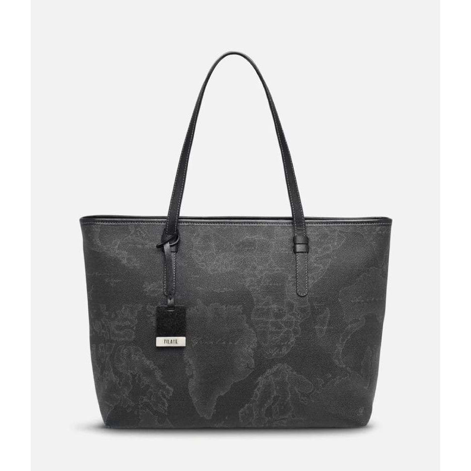Geo Black Large Geo Dark shopping bag LG100217