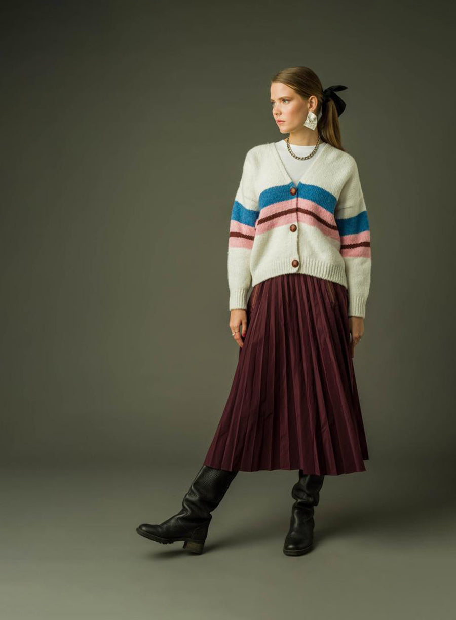 Floris skirt bordeaux