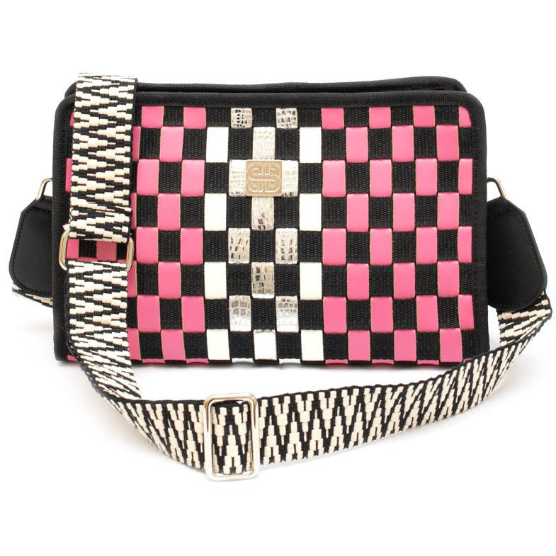 Barrier crossbody ροζ