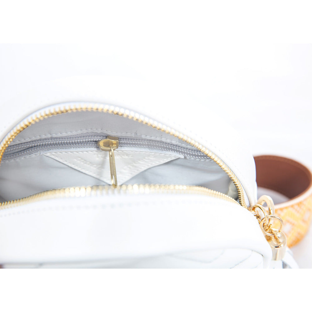 'Round' leather bag