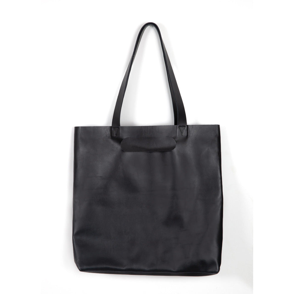 Shopping leather bag