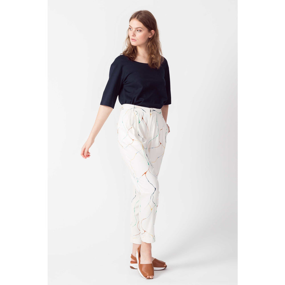 Domaikia trousers white