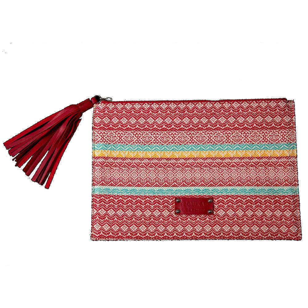 'Pouch' bag red