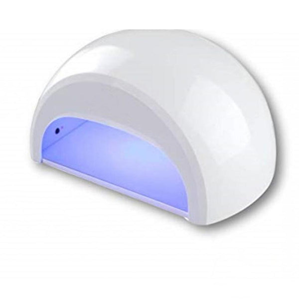 Proxima Direct 12W White LED Nail Dryer Lamp Manicure Art For Shellac Nail Polish with Auto 30s Sensor + Cuticle Pusher and Lint Free Wipe Proxima Direct - White