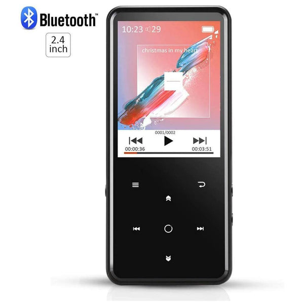 AGPTEK C2 8GB Bluetooth 4.0 MP3 Player ,Expandable up to 128GB Touch button with Backlight, - DealsnLots