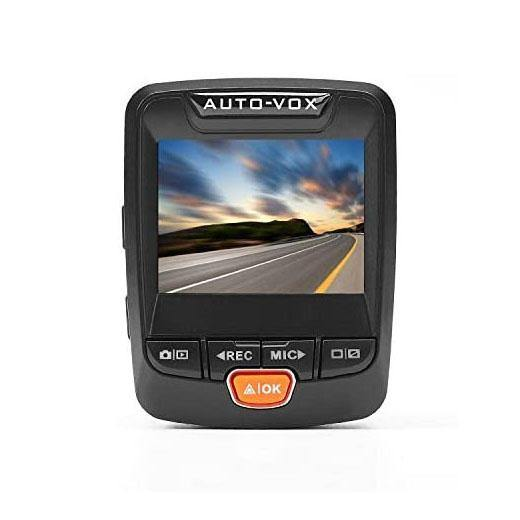AUTO-VOX B60 FHD Mini Dash Cam, Car Recorder with WDR G-Sensor Loop Recording - (Black) - (SD Card Not Included)