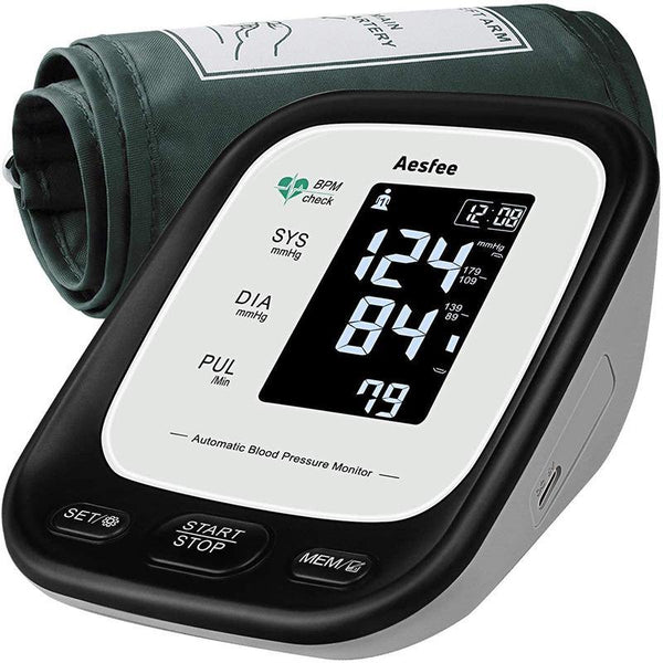 Aesfee AES-U171 rechargeable upper arm blood pressure monitor