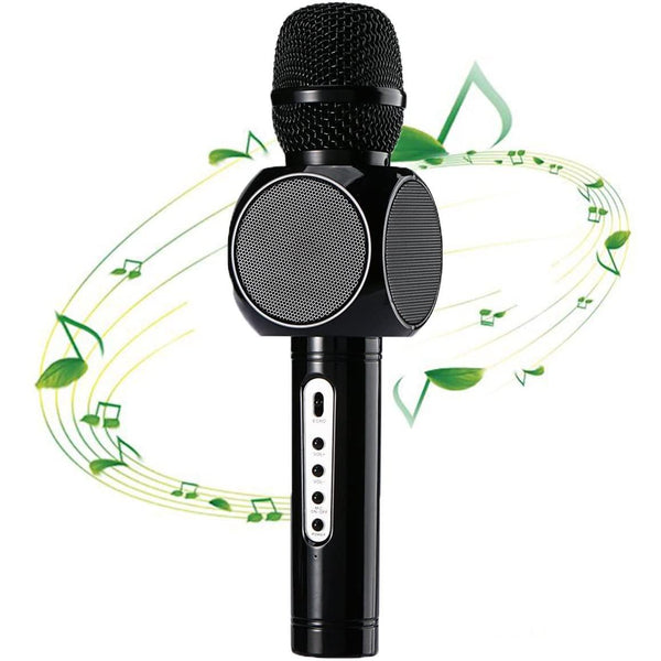 Amicool Magic Karaoke Player E103 Wireless Microphone Bluetooth Speaker- - DealsnLots