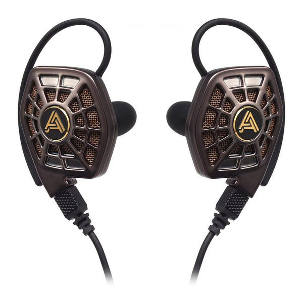 Audeze Earphone with Cipher Cable Model: iSINE20  (Black&Golden)