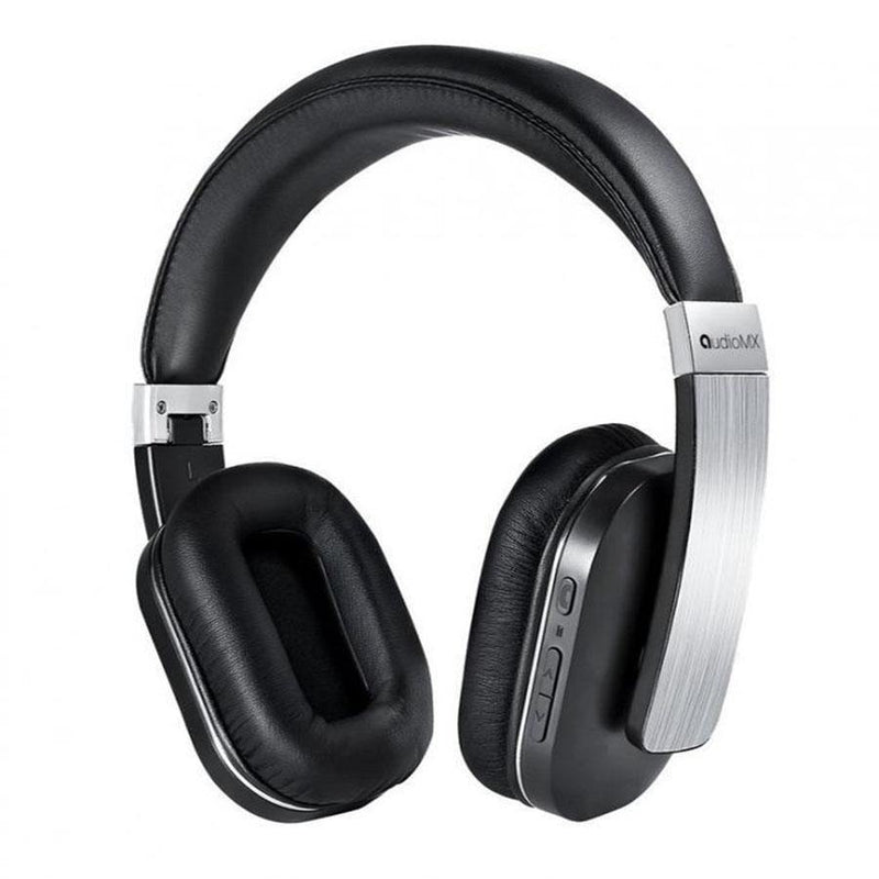 AudioMX Bluetooth Headphones with Noise Isolation Mic - (Alloy Silver)