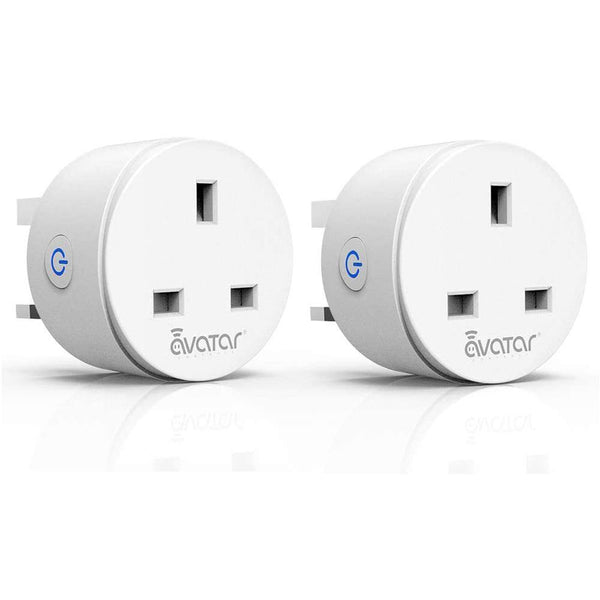 Avatar AWP14H WiFi Smart Plug Outlet Socket 2300W/10A/240V [White] - DealsnLots