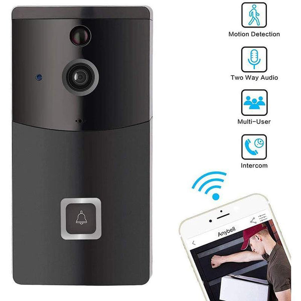 B10 Low Power WiFi Video Doorbell (without Battery, No SD Card)