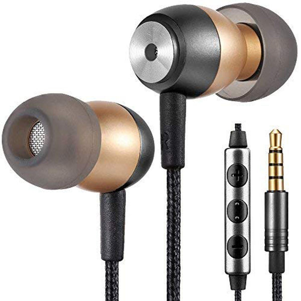 Betron GLD60 Earphones with Microphone and Volume Controller