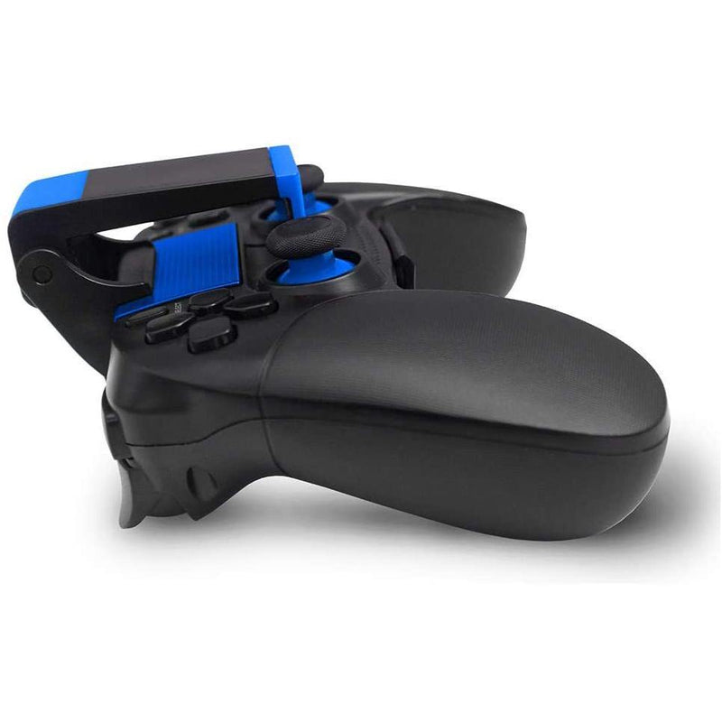 Bigaint Mobile Wireless Game Controller, Compatible with Android/iOS -Model: 8718 - (V1.2) - (Black/Blue)