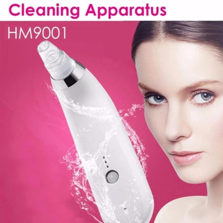 Blackhead Suction Ance Remover Vacuum Pore Cleanser Facial Skin Lift  Model: HM9001 (White)