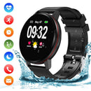 Byttron Bluetooth Smart Watch, Heart Rate Monitor, blood pressure, blood oxygen measurements, Sleep Monitor, Activity Tracker Pedometer, IP68 Waterproof.