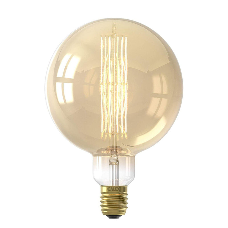 CALEX LED megaglobe Globe with Edison Filament Decorative 11w 240v E40 2300k Transparent Dimmable [Energy Class A+]