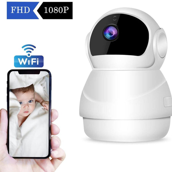 CHORTAU Wireless FHD1080P IP Camera Two Way Audio, Night Version & Motion Detection, - DealsnLots