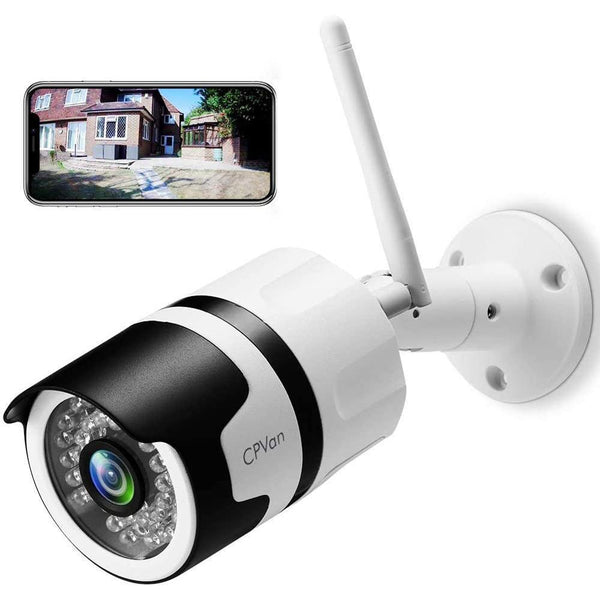 CPVAN CP-ODRIPC6 1080P Outdoor/Indoor Security Camera