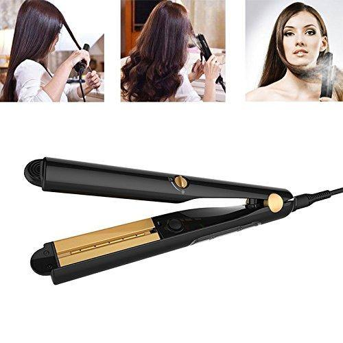 Carejoy Steam Hair Straightener Oil Flat Iron Ceramic Hair Curler Professional Argan Oil Infused Hair Treatment  Model: i-109