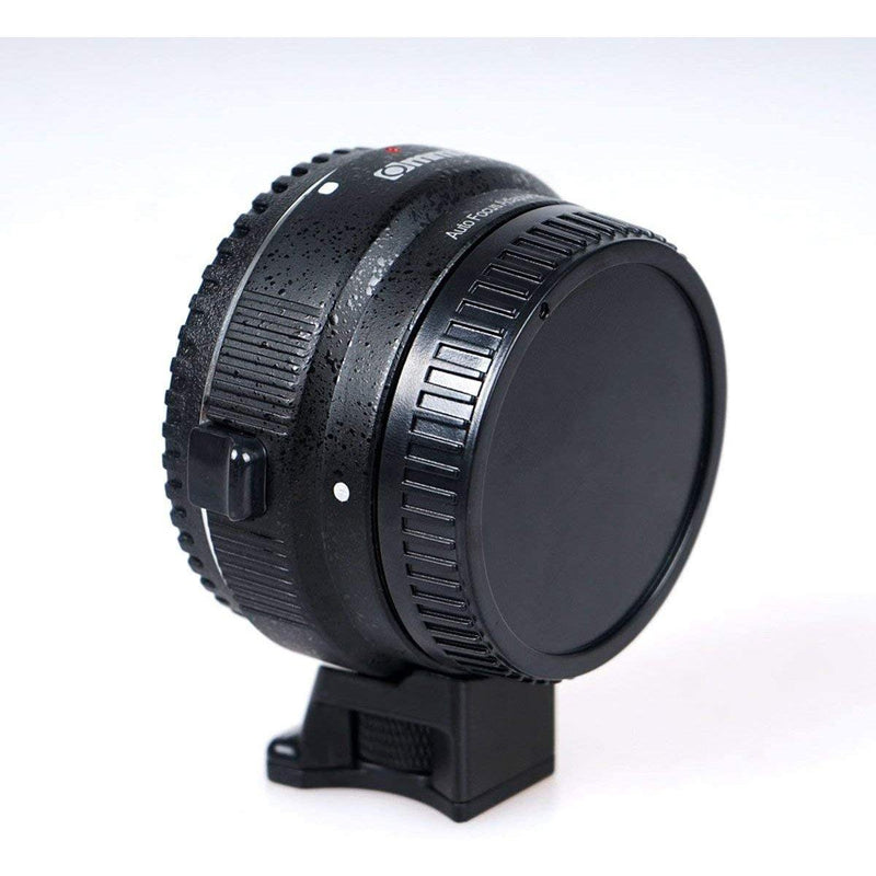Commlite Auto-Focus Mount Adapter EF-NEX for Canon EF to Sony NEX Mount Model: EF-NEX (Black)