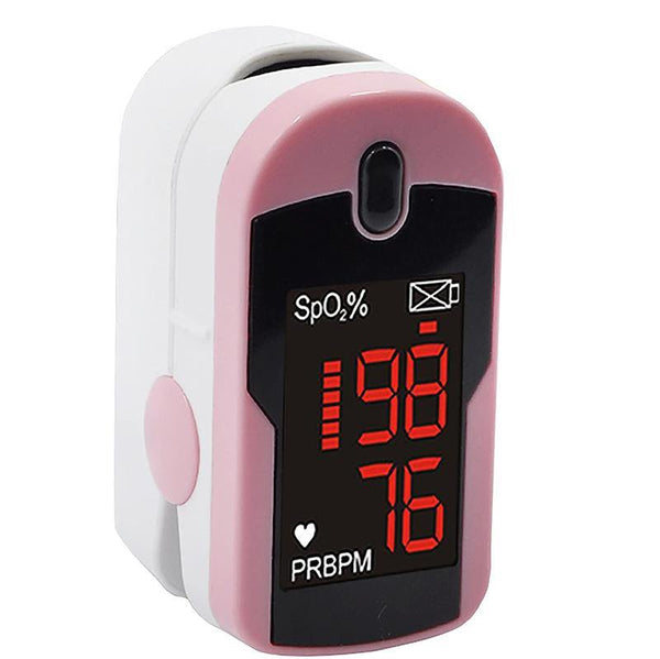 Concord Pink Fingertip Pulse Oximeter with Reversible Display MD300C12