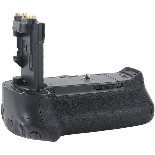 DSTE vertical battery grip Bg-e16+ 2 x LP-E6 For Canon 7d Mark II Digital Camera- Model: DB68 (Black)