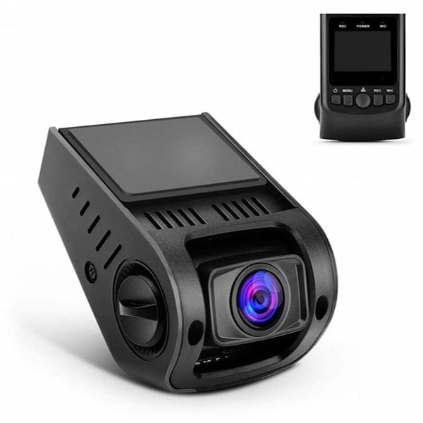 Apeman Dash Cam Covert Recorder FHD 1080P Car Dashboard Camera - (Black) - DealsnLots