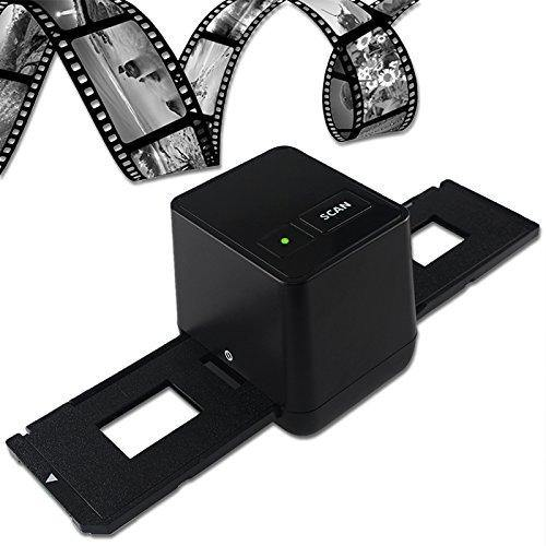 Digital Negative Film Scanner 17.9 Mega Pixels USB 35mm (Black)