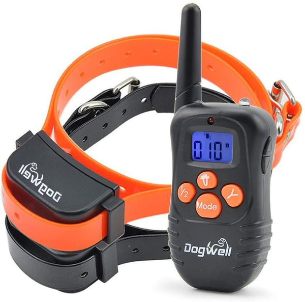 Dogwell Remote Dog Training Rechargeable (Black)
