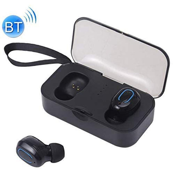 EARPHONES TI8s TWS Dazzling Bluetooth Earbuds - Black