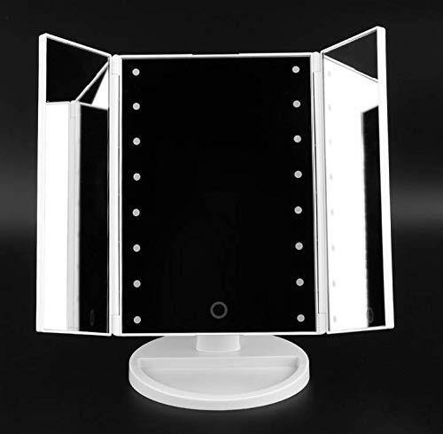 EASEHOLD Three sides table led mirror Model : SM216-DL (White)