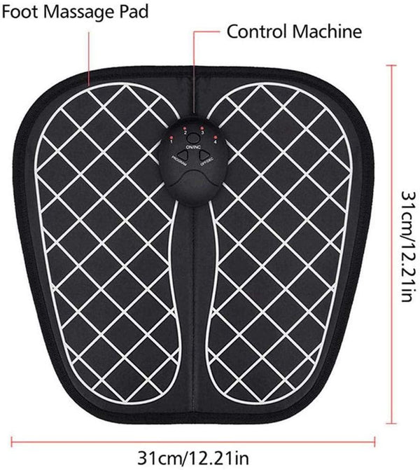 EMS Foot Massage Mat, Foot Promoting Blood Circulation (Black) - DealsnLots