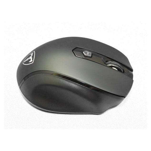 EasternTimes Optical gaming mouse LED, wireless 2.4 GHz Model:D-09 (Black-Gray)