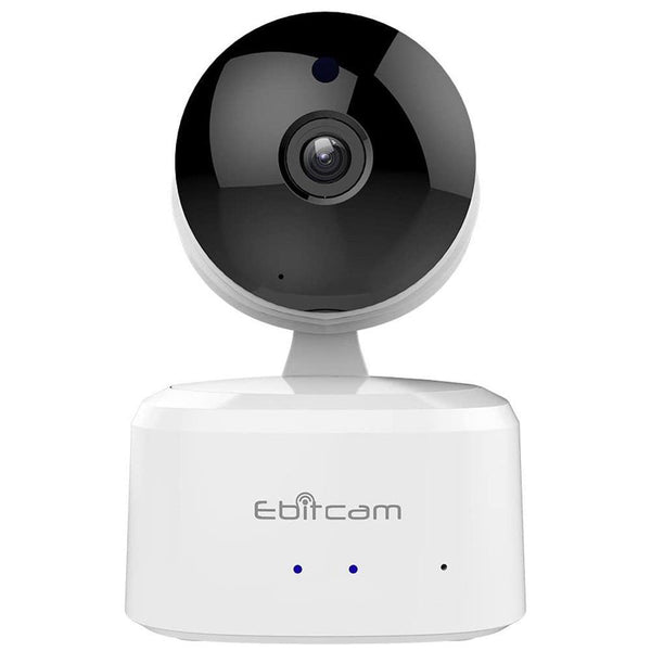 Ebitcam E2 1080P Smart Wifi Camera, (Night Vision, Motion Detection,2-Way Audio) [White] - DealsnLots