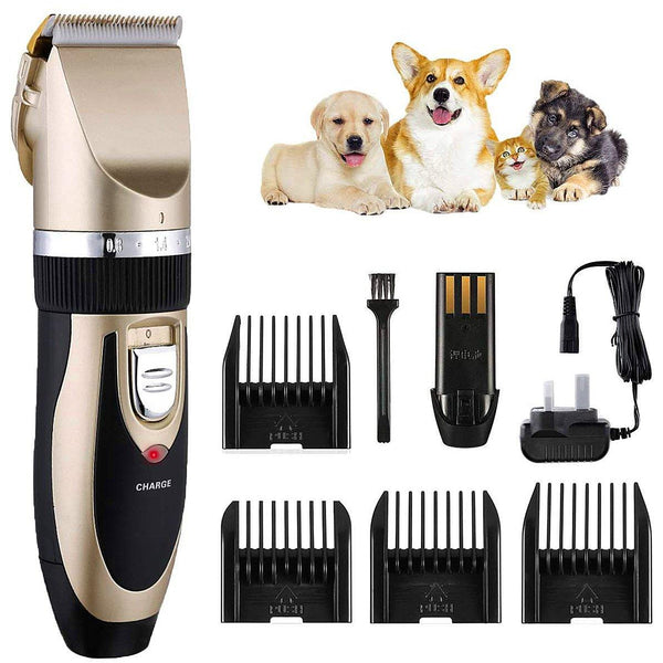 iClipper Electric Dog Clippers, Cordless Dog Trimmer Low Noise, Professional Cat Hair Trimmer