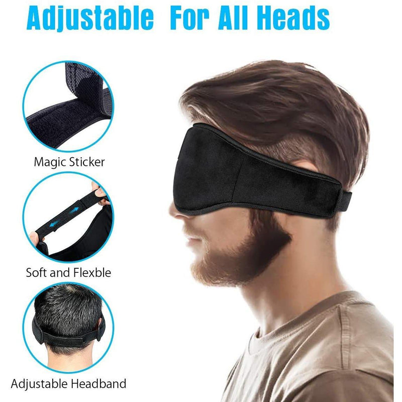 Enjoying  Wireless Bluetooth Sleeping Eye Mask Headphones- (Black)