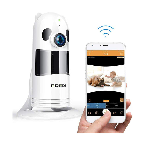 FREDI WiFi IP Camera, Baby Monitor HD 1080P Wireless Security IP Camera - (FV-928W) - (White)